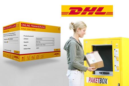 Ein gratis DHL-Päckchen verschicken