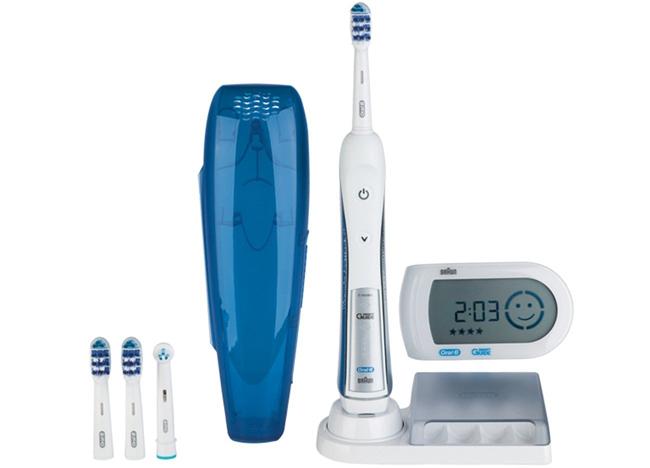 Elektrische Zahnbürste Braun Oral-B TriZone 5000 mit Reise-Etui & SmartGuide für effektiv 46,45 €