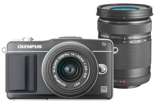 Olympus-Sale bei vente-privee - z.B. Systemkamera Olympus PEN E-PM2 mit 2 Objektiven für 505 €