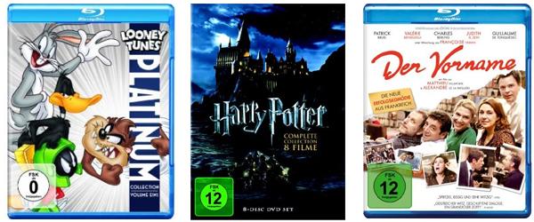 1 Tages-Aktion auf DVDs, Blu-rays und Boxsets bei Amazon