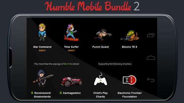 The Humble Mobile Bundle 2 – Indie-Games für Android zum selbstgewählten Preis kaufen