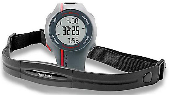 GPS-Uhr Garmin Forerunner 110 HRM mit Brustgurt für 111 € *Update* jetzt für 99,83 €