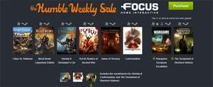 The Humble Weekly Sale mit Spielen Focus Interactive - z.B. Cities XL oder Game of Thrones