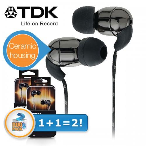 Top! 2 Stück In-Ear-Ohrhörer TDK Life on Record IE500 für 25,90 € bei iBOOD - 47% sparen