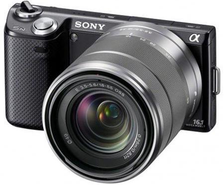 Systemkamera Sony Alpha NEX-5N mit 18-55-mm-Objektiv ab 406,99 € - bis zu 25% sparen