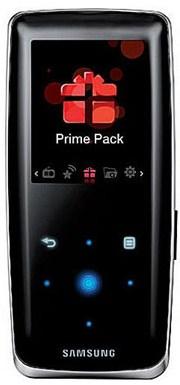 MP3 Player Samsung YP-S3JC 8GB schwarz und weiß für 60€