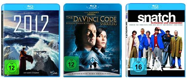 2 Blu-rays für zusammen nur 15 € bei Amazon