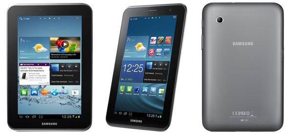 "Samsung Galaxy Tab 2.7.0 (7"", WiFi, 8 GB) für 124,99 € bei MeinPaket"