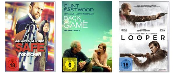 Film-Angebote bei Saturn und Konter von Amazon - viele Blu-rays für je 7,99 €