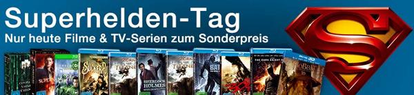 Superhelden-Tag bei Amazon mit Filmen und Serien zum Sonderpreis