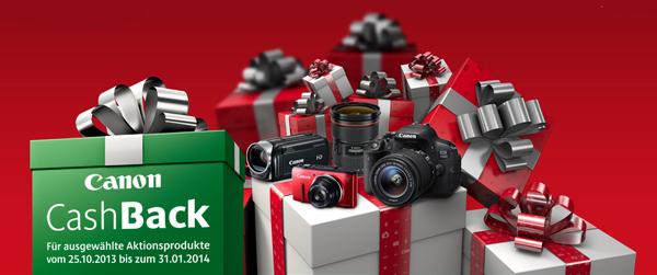 Canon: bis zu 250 € Cashback auf ausgewählte Kameras und Zubehör