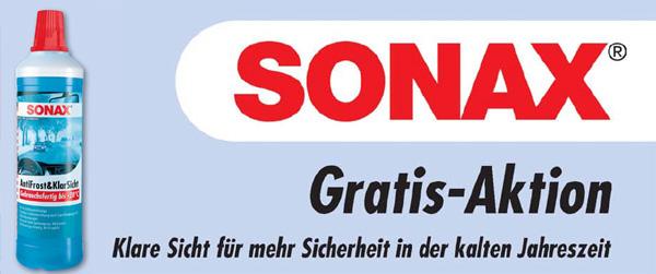 Forstinger: 1 Liter Sonax AntiFrost & KlarSicht kostenlos