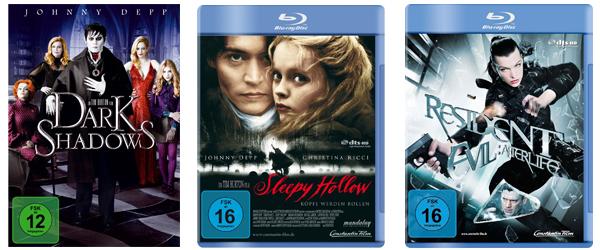 Neue Film- und Serienangebote bei Amazon - z.B. 2 Blu-rays für 18 € oder 3 TV-Serien-Staffeln für 24 €