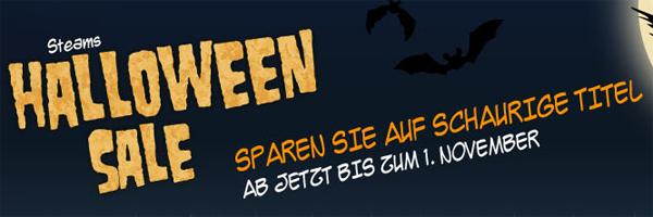 Halloween-Sale bei Steam mit bis zu 85% Rabatt auf ausgewählte Spiele
