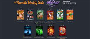 The Humble Weekly Sale mit Spielen von Team 17 - z.B. Worms Armageddon oder Alien Breed