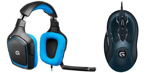 Amazon: Logitech Gaming-Aktion - 2 Artikel kaufen und 50% auf das billigere Produkt sparen *Update*