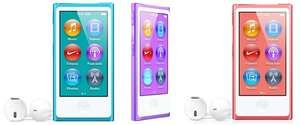 Apple iPod nano (16 GB, 7. Generation) für 112 € bei Amazon UK - 14% sparen