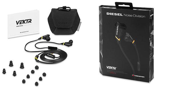 In-Ear-Ohrhörer Monster Diesel VEKTR für 39,89€