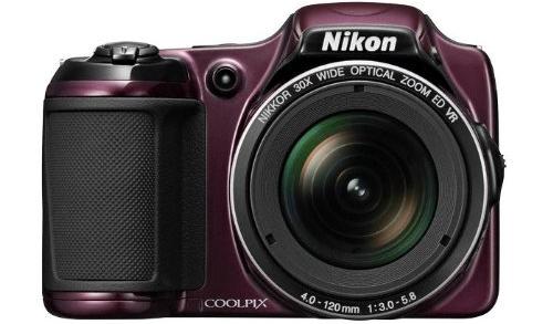 Bridge-Kamera Nikon Coolpix L820 (16 MP, 30x opt. Zoom) für 129 € - 24% Ersparnis