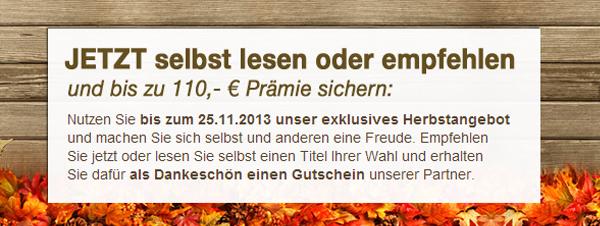Gruner & Jahr Herbstaktion: Zeitschriften-Abos mit bis zu 110 € Prämie - z.B. Stern-Abo für 82,40 €