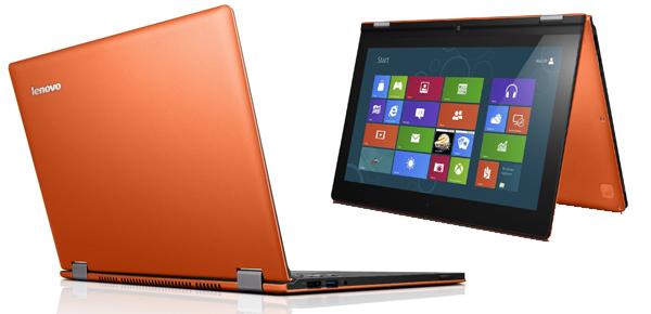 Convertible-Ultrabook Lenovo IdeaPad Yoga 13 (Core i7, 8 GB RAM, 256 GB HDD) für 999 € statt 1200 €