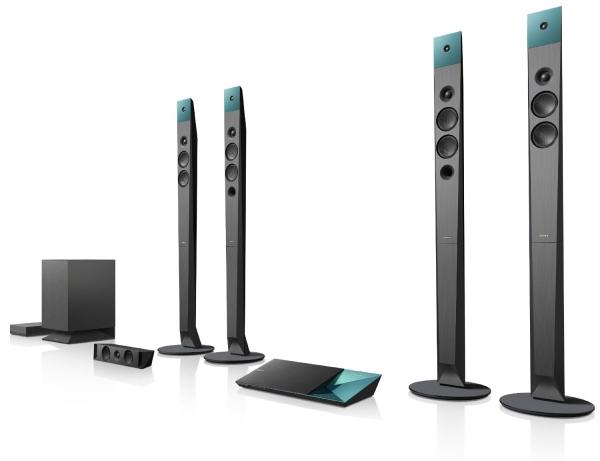 Generalüberholtes 3D-fähiges Blu-ray-Heimkinosystem Sony BDVN9100WB für 539 €