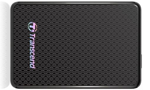 Externer SSD-Speicher Transcend ESD200 (128 GB, USB 3.0) für 99,95 € - 14% Ersparnis