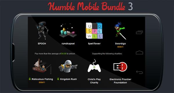 The Humble Mobile Bundle 3 – Indie-Games für Android zum selbstgewählten Preis kaufen *Update*