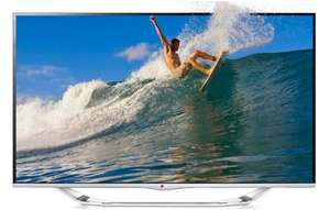 Cyber Monday Countdown bei Amazon: LG 42LA7408 (3D, WLAN, Triple-Tuner, Smart TV) für 599 €