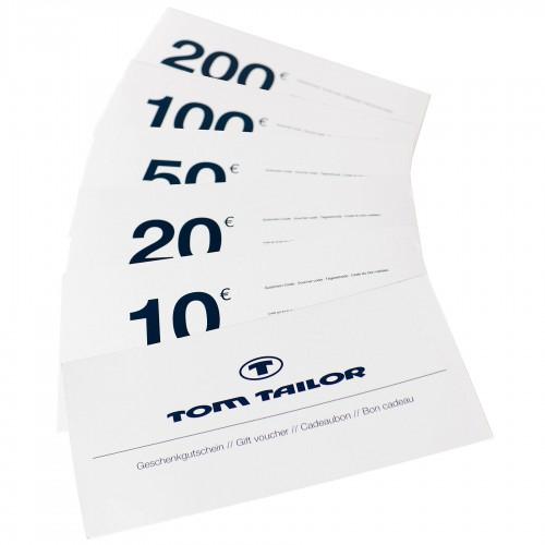 Tom Tailor Wertgutscheine mit 30% Rabatt - nur heute!
