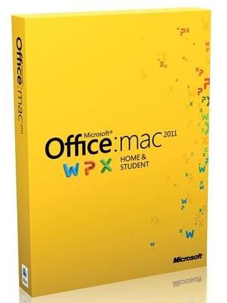 Office für Mac Home & Student 2011 für 43 € bei Amazon UK - 56% sparen