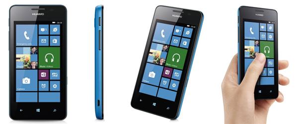 Super! Windows Phone Huawei Ascend W2 für 139,95 € - 37% Ersparnis