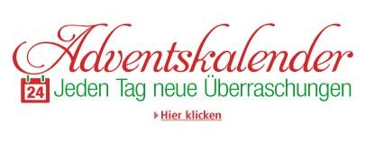 Übersicht: Online-Adventskalender 2013 mit täglich guten Angeboten
