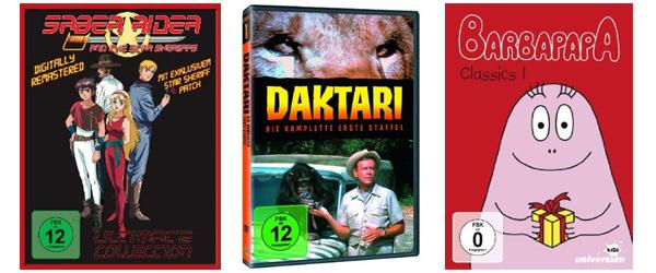 Film- und Serienangebote bei Amazon - z.B. TV-Serien-Klassiker zum Sonderpreis oder 3 Blu-rays für 20 €