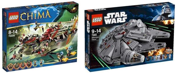 20% Rabatt auf Lego-Produkte bei Pixmania und kostenloser Versand