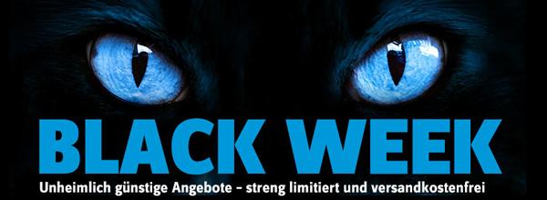 Black Week bei Conrad mit guten Tagesangeboten - z.B. 3D Blu-ray-Player LG BP420 mit 36% Rabatt