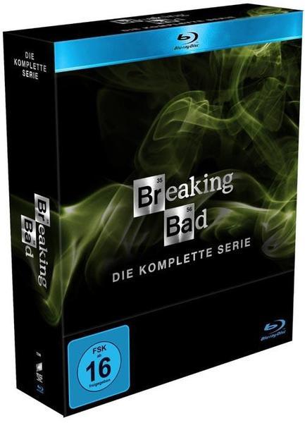 Breaking Bad - Die komplette Serie (Blu-ray) für 68 € bei Saturn - 16% sparen