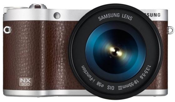 Systemkamera Samsung NX300 + 18-55 mm-Objekt für 429 € - 10% Ersparnis