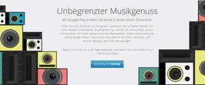 Google Play Music All-Inclusive ab sofort in Deutschland - 30 Tage gratis testen