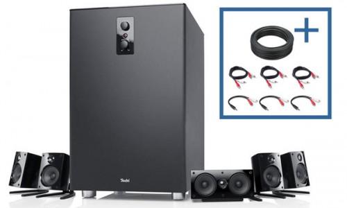 5.1 Lautsprecherset Teufel Concept E450 mit Gutschein für 309,99 € - 25% sparen