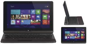 Convertible-Ultrabook Toshiba Satellite U920t-100 (Core-i5, Win 8, 4 GB RAM) für 699 € - 22% Ersparnis