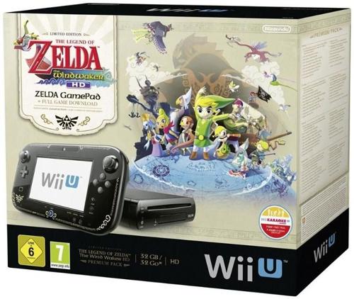Nintendo Wii U Premium Pack + The Legend of Zelda: Wind Waker HD für 249 € *Update*  jetzt für 199 €