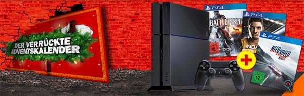 Media Markt Adventskalender - heute mit diversen PS4-Bundles *Update* jetzt wieder erhältlich