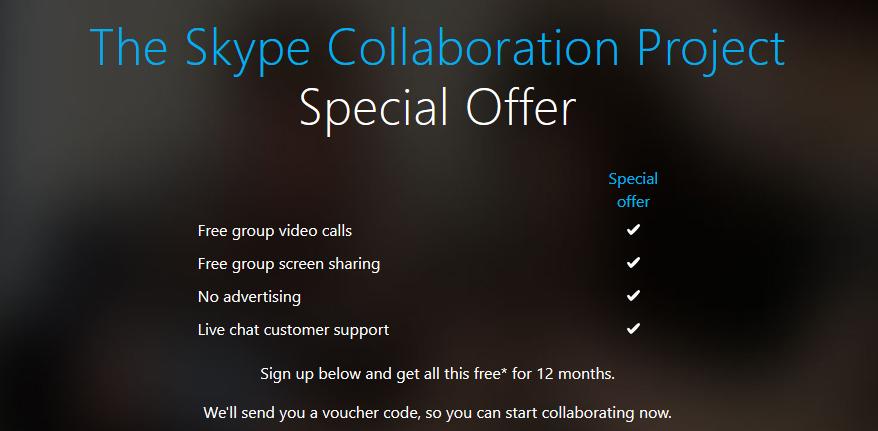 Skype: Pro-Funktionen ein Jahr lang kostenlos freischalten