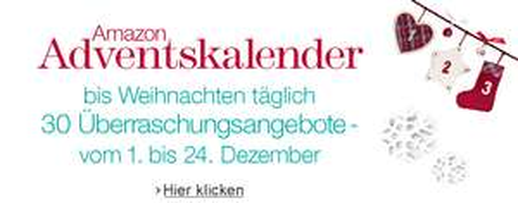 Amazon Adventskalender 2013 – Tag 20: z.B. Bosch Bohrschrauber oder Monopoly Millionär