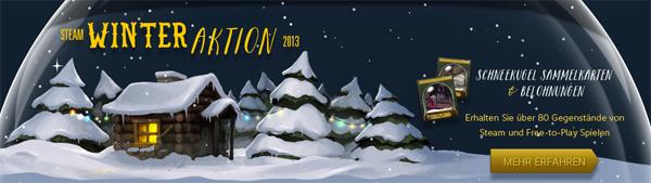 Winter-Sale bei Steam mit bis zu 90% Rabatt auf ausgewählte Spiele