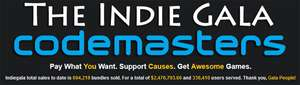 The Indie Gala Codemasters Bundle - u.a. mit Damnation, Overlord und Jericho