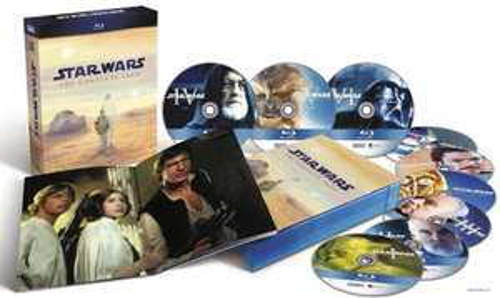 Star Wars: The Complete Sage I-VI (Blu-ray) für 59 Euro statt 78 Euro