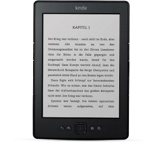 Kindle 4 (schwarz, W-Lan) für 39€