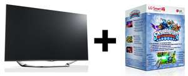 Guter TV-Deal bei Amazon: LG 47LA6918 (3D, Triple-Tuner, WLAN) + Skylanders Battlegrounds Starter-Paket für 629,99 €